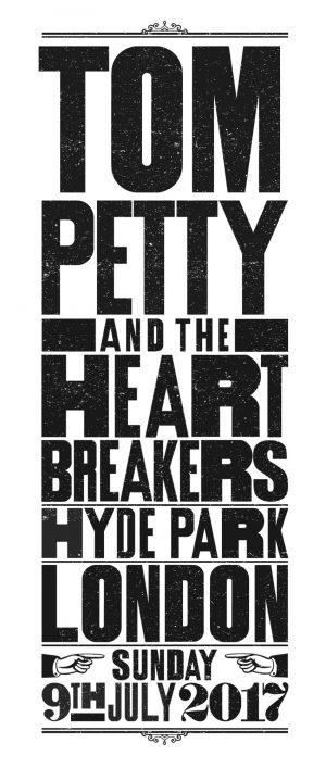 tompetty-typography-t-shirt